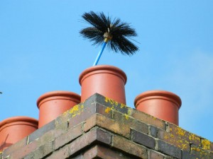 Ensure your chimney is safe.